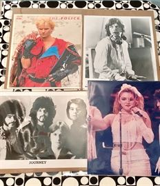Vintage Rock and Roll Glossy Photos