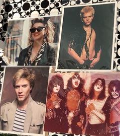 80s Glossy Rock Photos