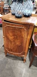Curved Front Cabinet