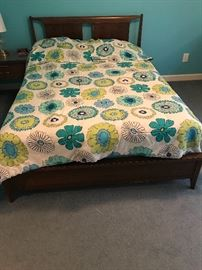 Mid-Century modern full size bed