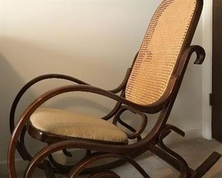 Alternate view of excellent rocking chair