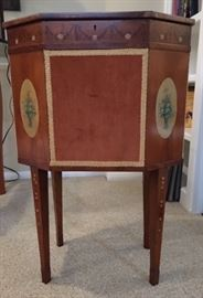 Adams period task/sewing cabinet