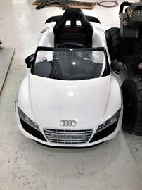 Audi Motorized Car