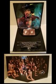THE JIMI HENDRIX Experience, Electric Ladyland, 1968 West Germany 2 LP Set. Polydor. Estate sale price: $95