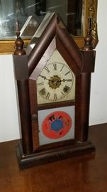 Waterbury 8 Day Clock circa 1880