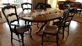 Country French Kitchen Table and Chairs