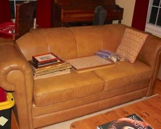 Sofa, Pictures and Decorative Pillow