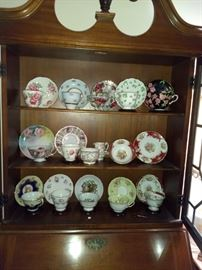 English Bone China Teacup Collection