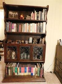 Pr. Oak Bookcases