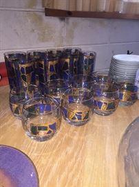 Georges Briard glass set