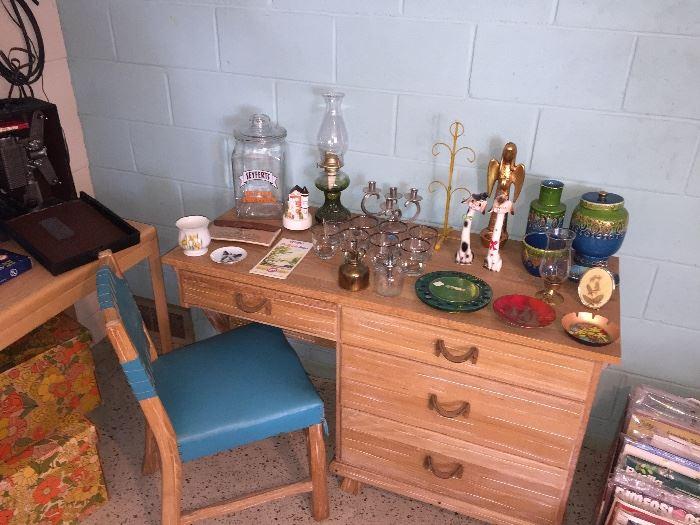 Brandt ranch oak desk
