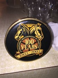 Teamsters hitch cover