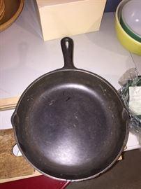 Cast iron pan #7