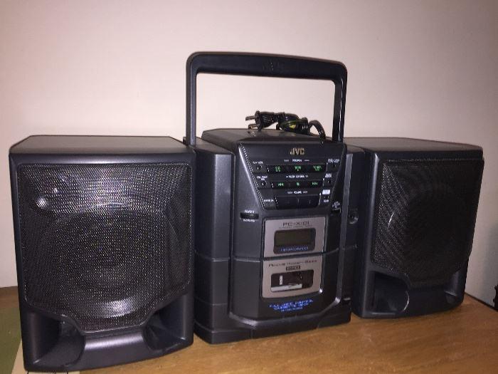 JVC Boombox stereo