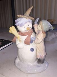 Lladro snowman
