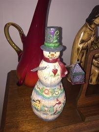 Jim Shore snowman
