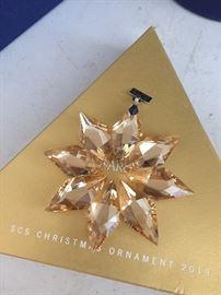 Swarovski Christmas ornament 2013