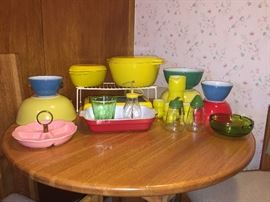 Colorful kitchen items!