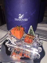 Swarovski sleigh