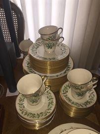 Lenox Holiday China- 60 piece set!