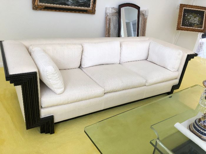 Interior Craft Oriental Custom Sofa's A pair