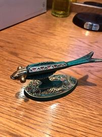 Judaica Brass Road Runner