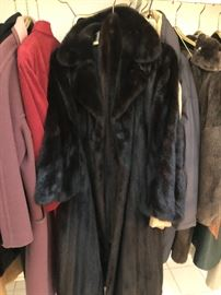 Ladies Blackglama mink coat