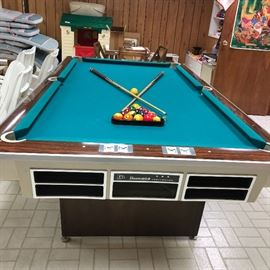 Vintage Brunswick Pool table