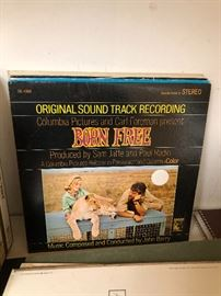 Born Free Original Sound Track Recording
