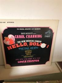 Hello Dolly LP Carol Channing