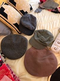 Vintage men's wool hats