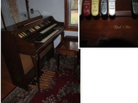 Bel Air Organ ornate legs