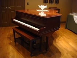 Pease baby grand piano