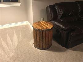 Medium Barrel End table