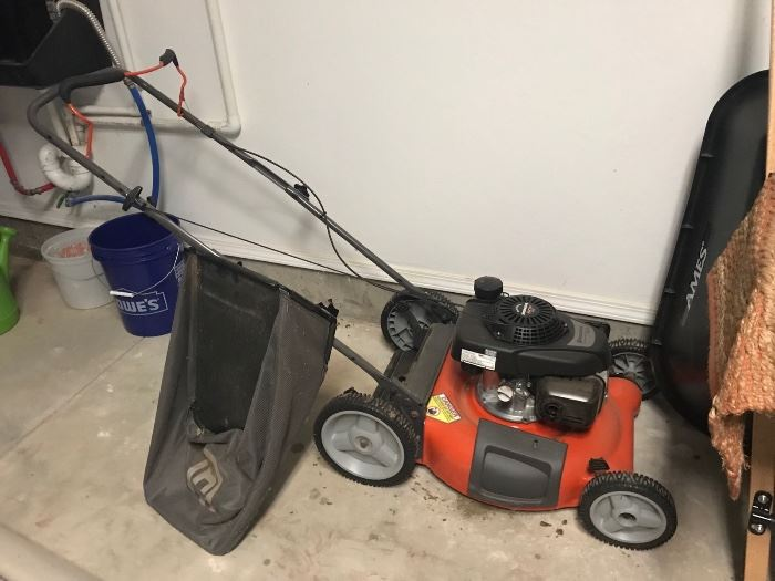 Year old lawn mower - only used 3-4x