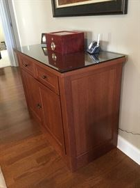Quality handcrafted piece by Ritenour Cabinet Maker, locally crafted piece of furniture right here in Leland!