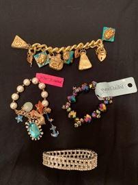costume jewelry, betsey johnson
