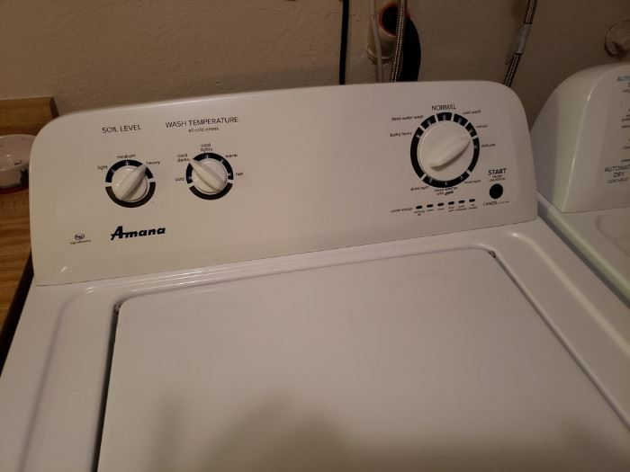 Amana HE Washer