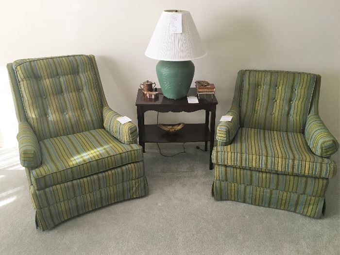 Two very '70s chairs!