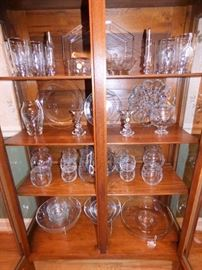 Collection of Etched Crystal