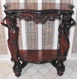 Italian figural table