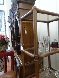 Mid Century Bamboo Shelves