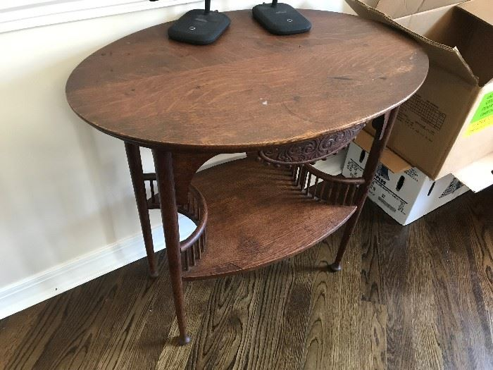 Antique Display Table $ 78.00