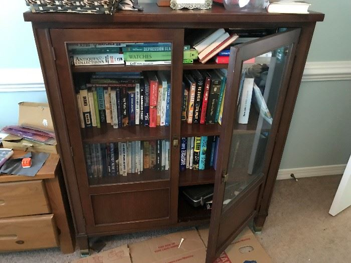 Glass Front Bookcase $ 198.00