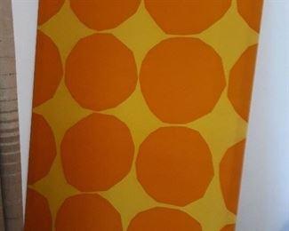 Framed op art Fabric