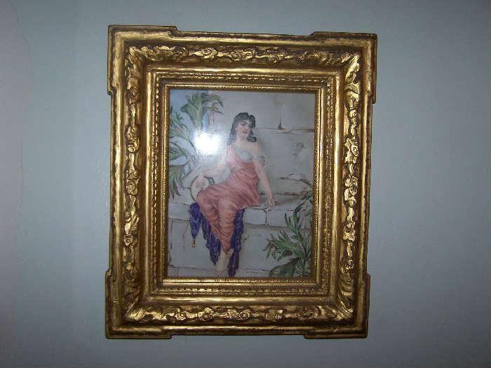 KPM Plaque Gypsy Girl