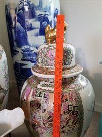 20th century Chinese Palace Vases