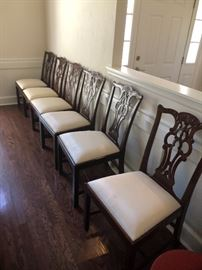 Beautiful dining room chairs