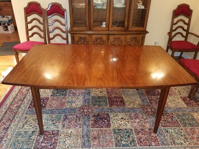Mid-mod table with leaf (shown) $175 available now!