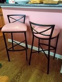 Custom kitchen bar stools $40 ea. available now!